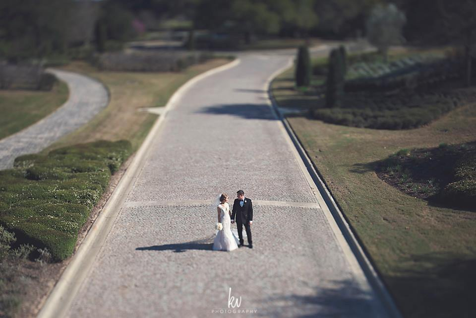 bride and groom married at bella collina