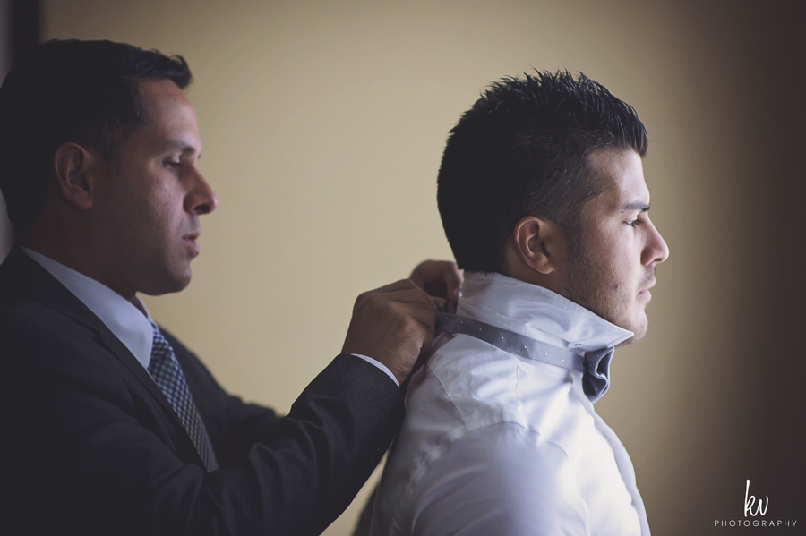 groom getting ready orlando wedding photographer by kv photography