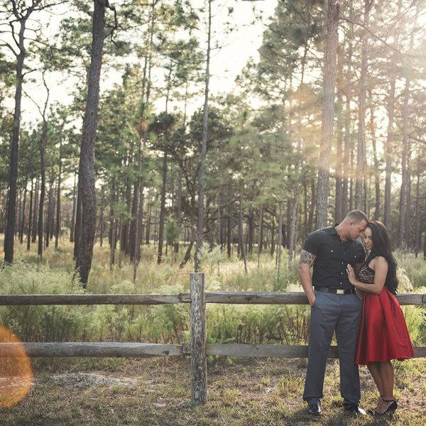 Orlando Engagement Session | Danny and Emily | Bella Collina Wedding