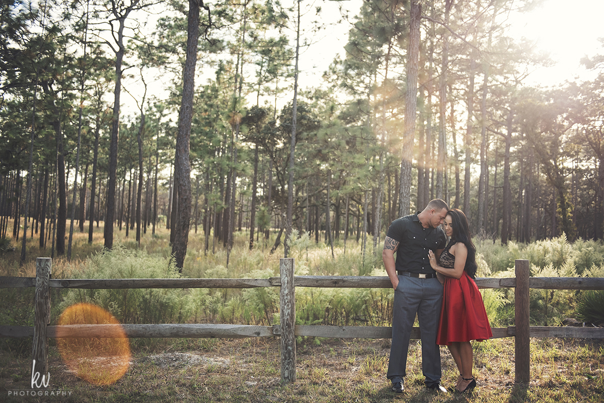 Forrest engagement session in Florida