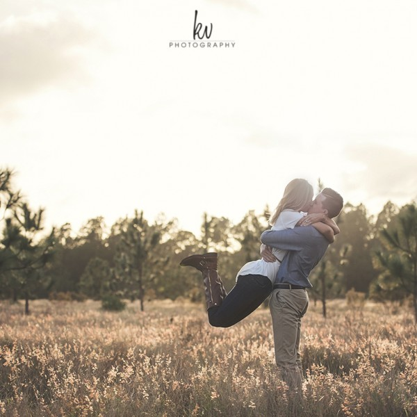 Stephanie and Kyle | Engagement Photography | Orlando Florida