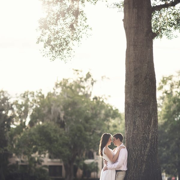 Kristin and Drew | Winter Park Engagement | Orlando Wedding Photography