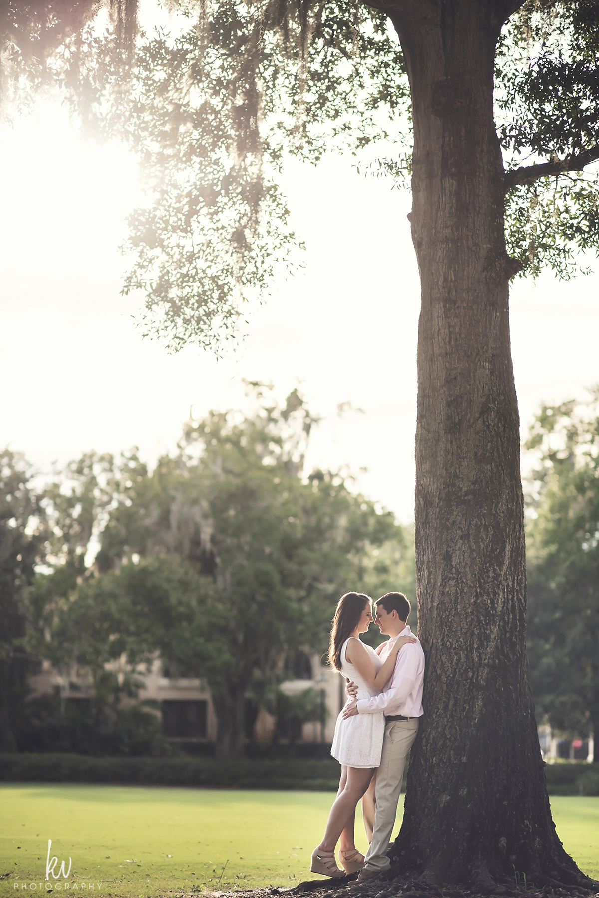 Engagement Session through Winter Park