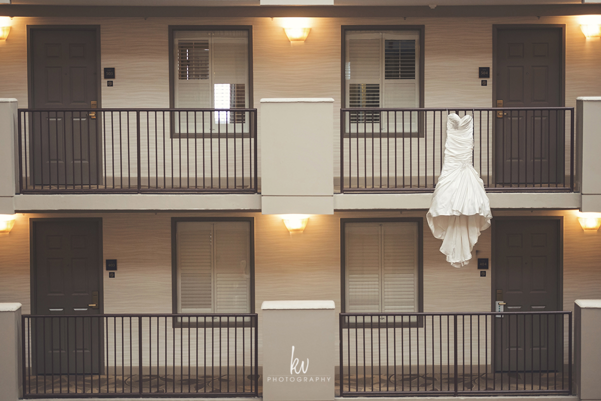 Downtown Orlando Wedding by KV Photography
