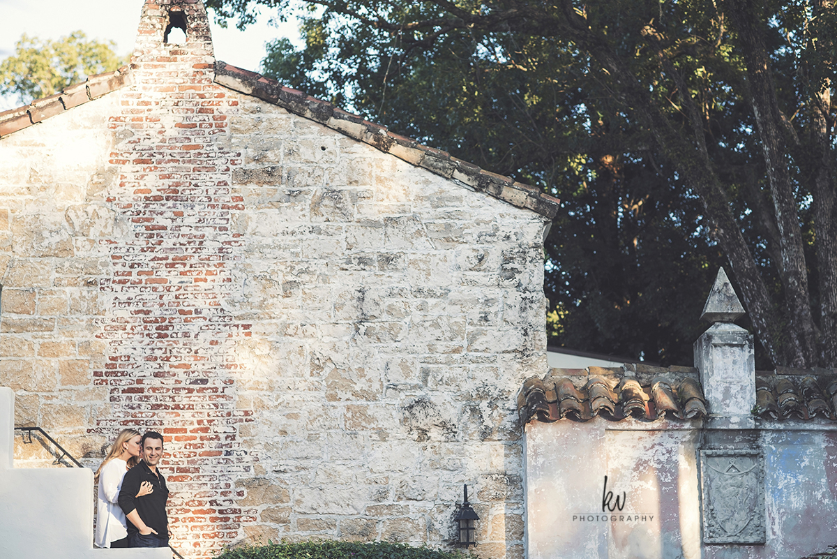 Engagement session in Winter Park Florida