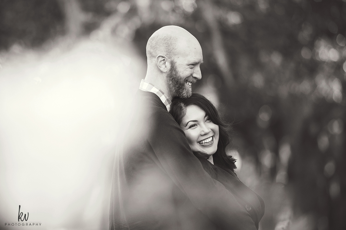 Engagement photos in Winter Park Florida