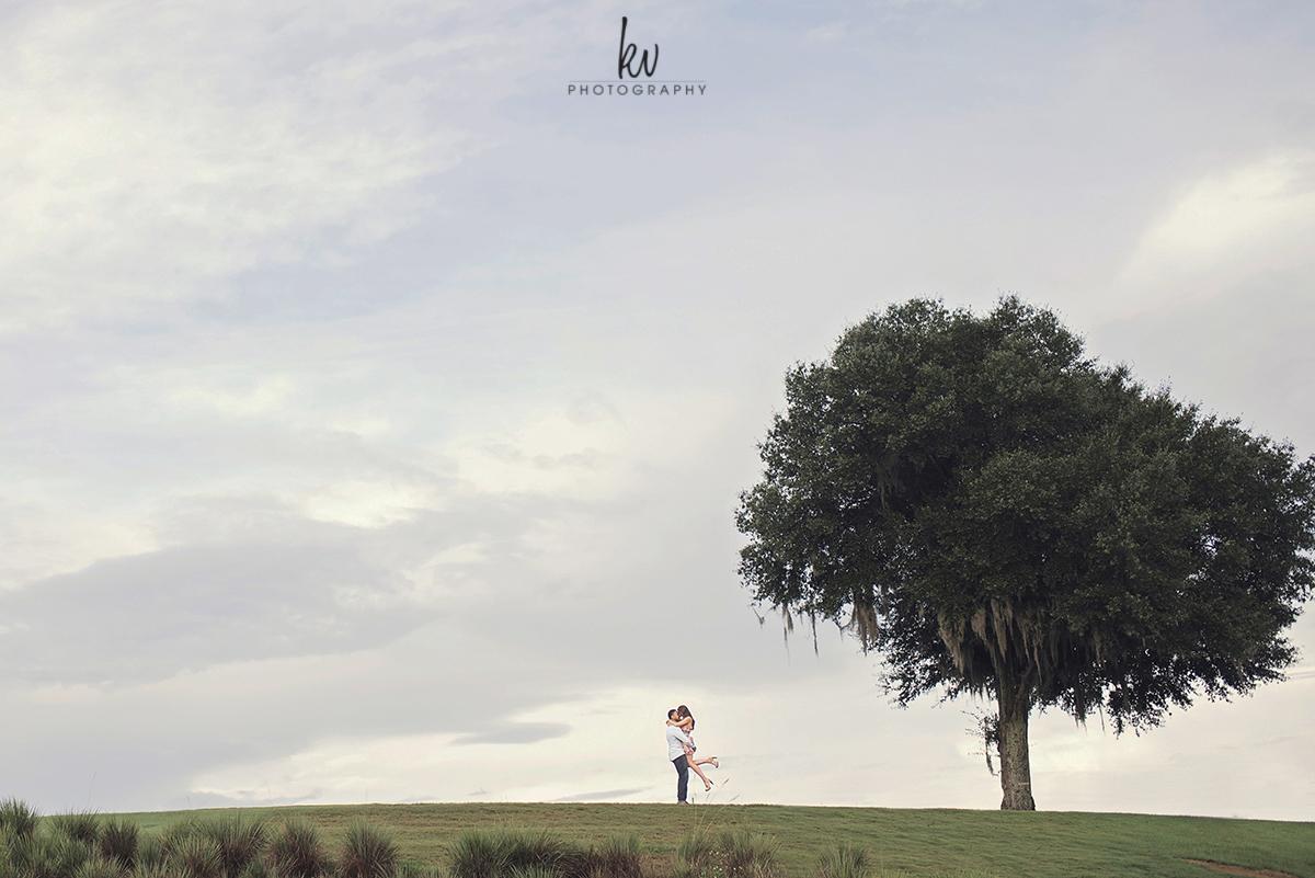 Reunion resort engagement session by KV Photography