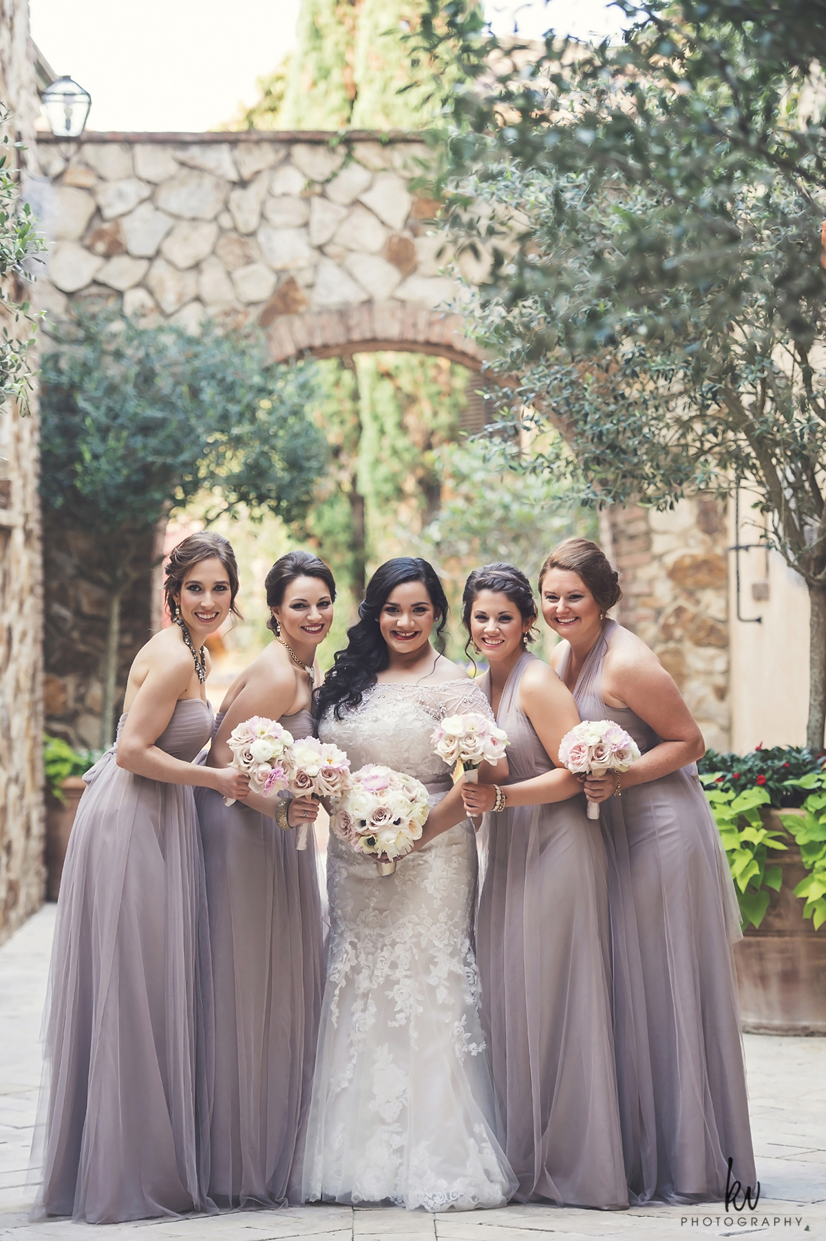Bella Collina Wedding, Italian inspired