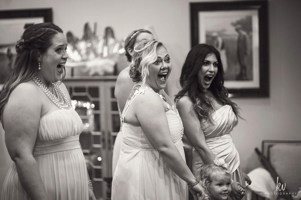 Getting ready during an orlando wedding by kv photography
