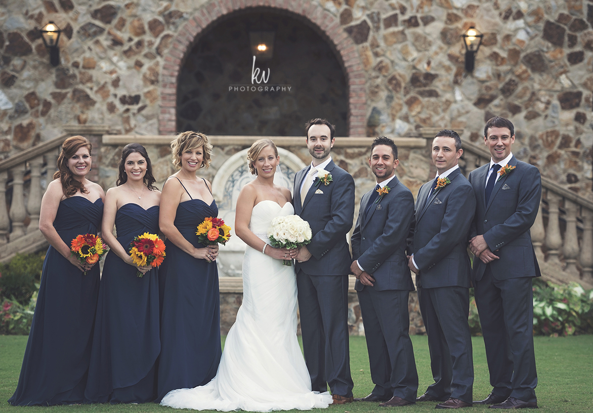 Tuscany inspired wedding at Bella Collina by KV Photography