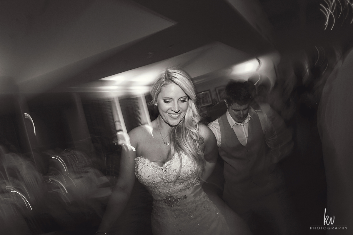 Reception during an orlando wedding by kv photography