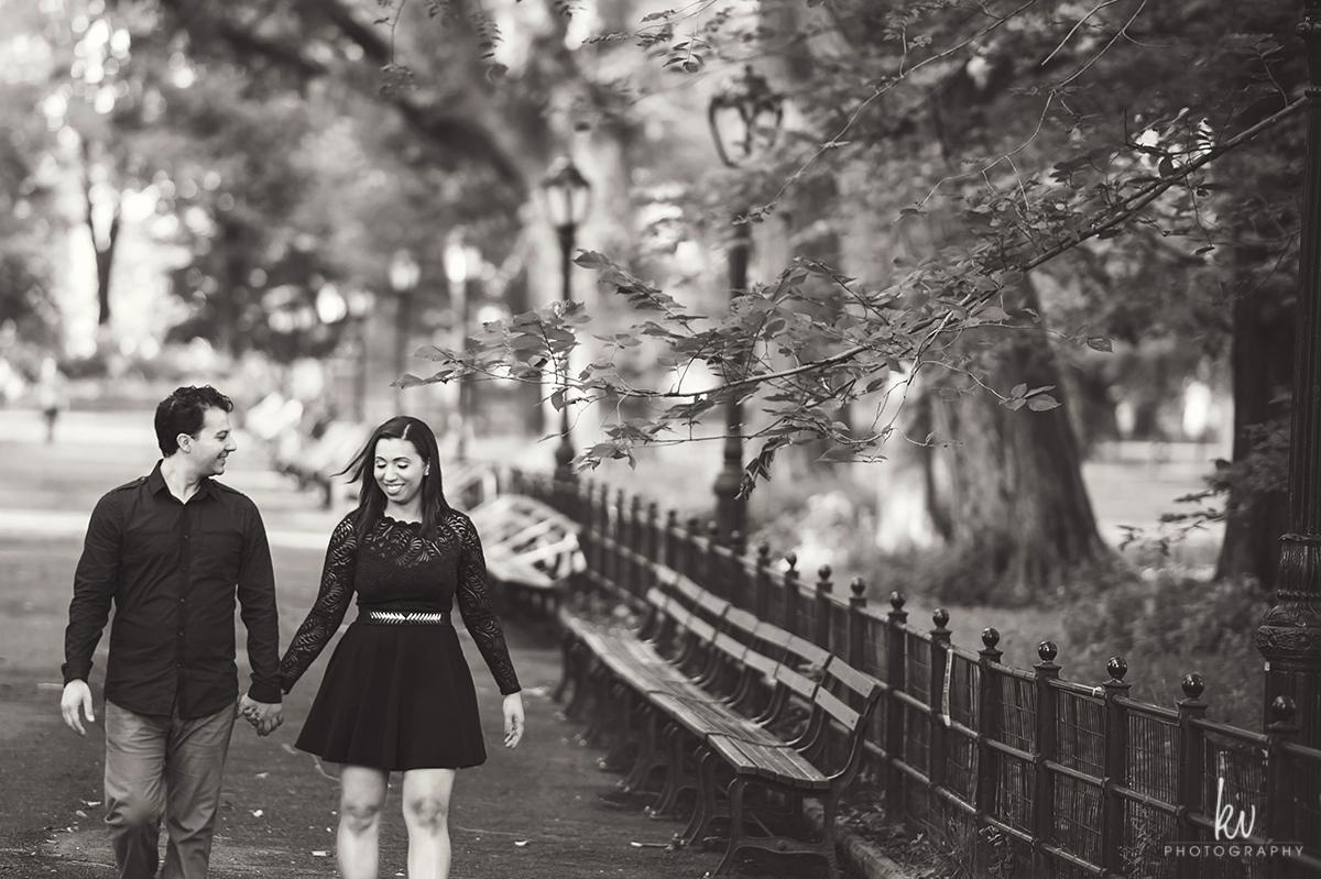 Central Park New York Engagement photos Orlando wedding photographer