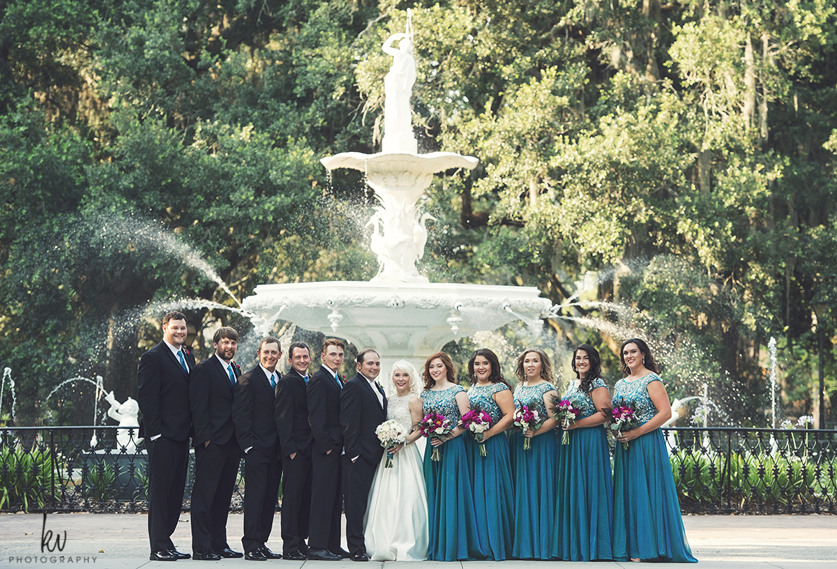 Savannah Wedding Photographer Mansion on Forsyth Park