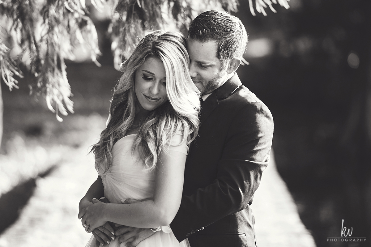 Stephanie and Ryan's engagement session in Downtown Orlando Florida