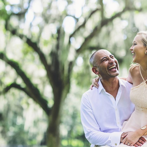 Bok Tower Engagement | Laura and Shadi | Orlando Wedding Photographer