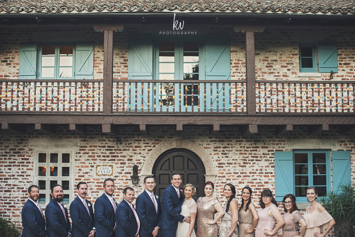 Casa Feliz wedding by Orlando Photographers